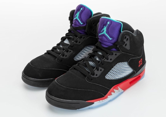 "Best Look Yet At The Air Jordan 5 ""Top 3"""