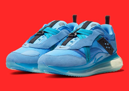 The Nike Air Max 720 OBJ Slip Gets Giants Friendly Colors