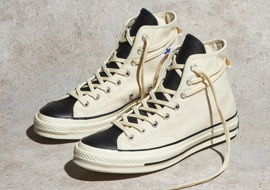 "Where To Buy The Fear Of God ESSENTIALS x Converse Chuck 70 ""Natural Ivory"""