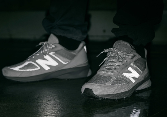 HAVEN Revisits Its Reflective New Balance 990v5 With Grey Colorway