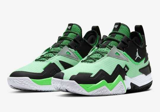 The Jordan Westbrook One Take Dresses Up In A Volt And Black Colorway