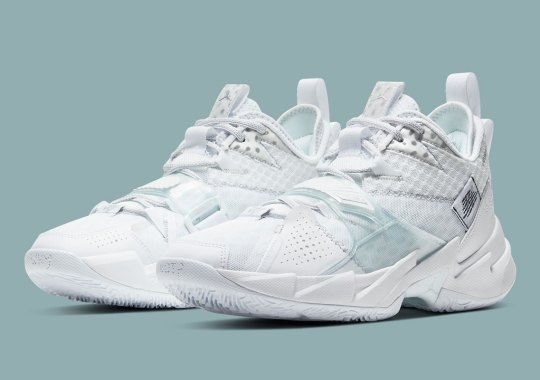 "Russell Westbrook's Why Not Zer0.3 Cleans Up With ""Triple White"""