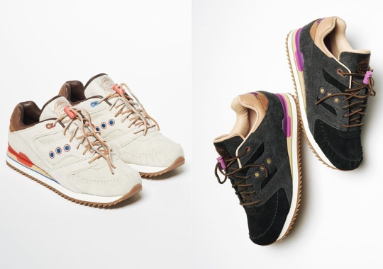 "Lapstone And Hammer Embarks On First-Ever Saucony Collaboration With ""Two Rivers"" Capsule"