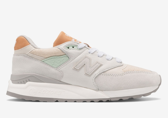 New Balance Adds Canvas Underlays To This Spring-Ready 998