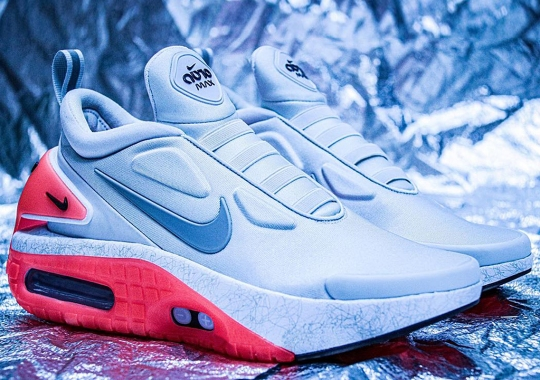 """The Nike Adapt Auto Max Revealed In """"Infrared"""""""