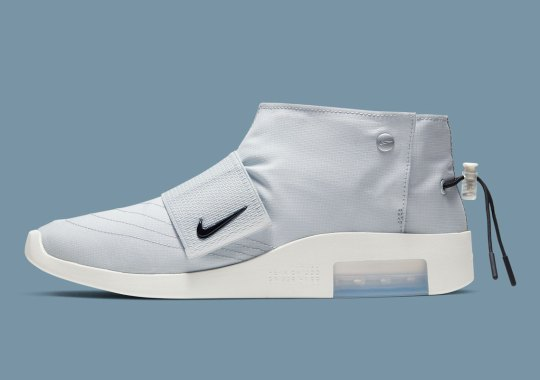The Nike Air Fear Of God Moc In Pure Platinum Restocks On April 1st