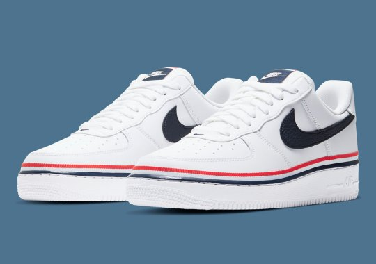 Nike Adds A Sporty Ribbon Around The Air Force 1 Low