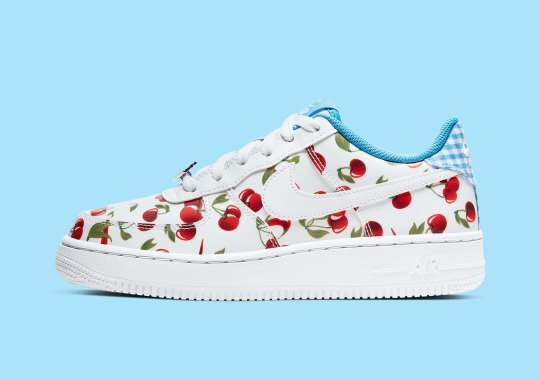 """The Nike Air Force 1 Low """"Cherry"""" Is Ready For Picnics"""
