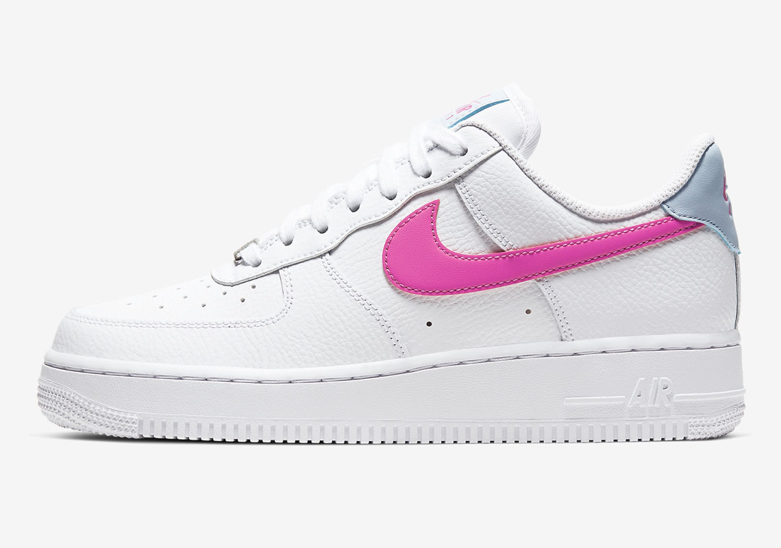 air force 1 swoosh rosa