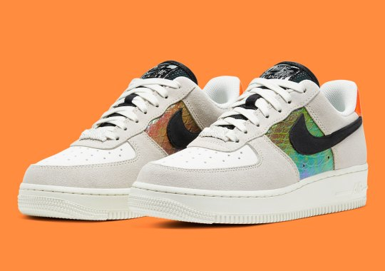 Iridescent Python Skins Appear On The Nike Air Force 1 Low