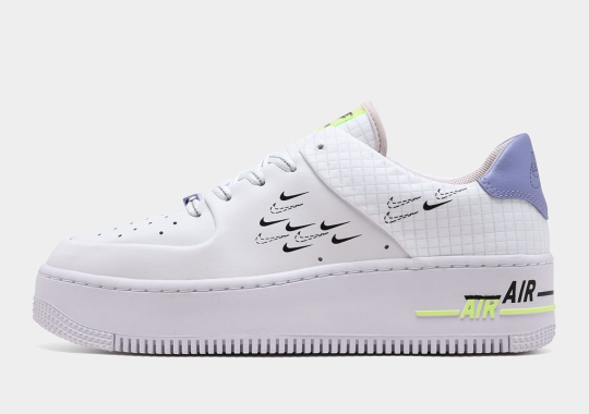 The Women's Nike Air Force 1 Sage Changes Up The Swoosh For Easter