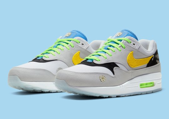 """The Nike Air Max 1 """"Daisy"""" Set To Drop In Adult Sizes"""