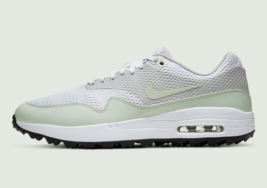 """The Nike Air Max 1 Golf Dons """"Jade Aura"""" For Spring"""