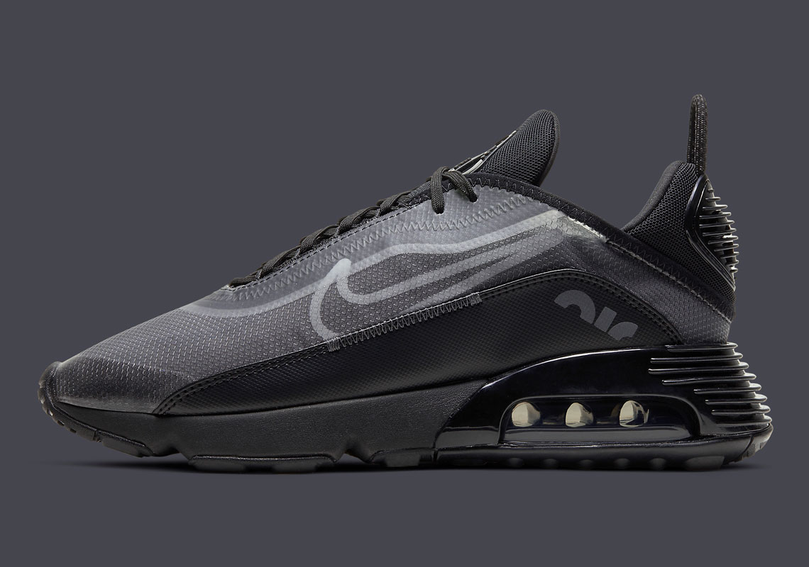Nike Air Max 2090 Black Grey Anthracite BV9977-001 ...