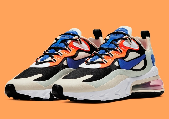 The Nike Air Max 270 React Subtly Nods To The OG Mowabb