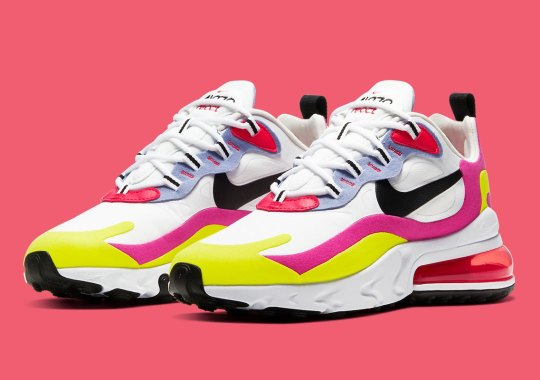 The Nike Air Max 270 React Adds A Tropical Twist For Women