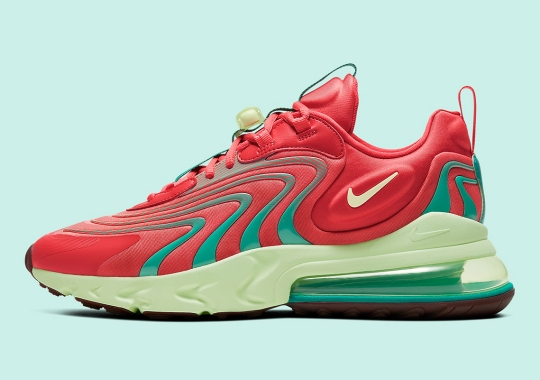 Bright Watermelon Colors Hit The Nike Air Max 270 React ENG
