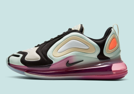 The Nike Air Max 720 Embraces Spring With New Approaches To Color Blocking