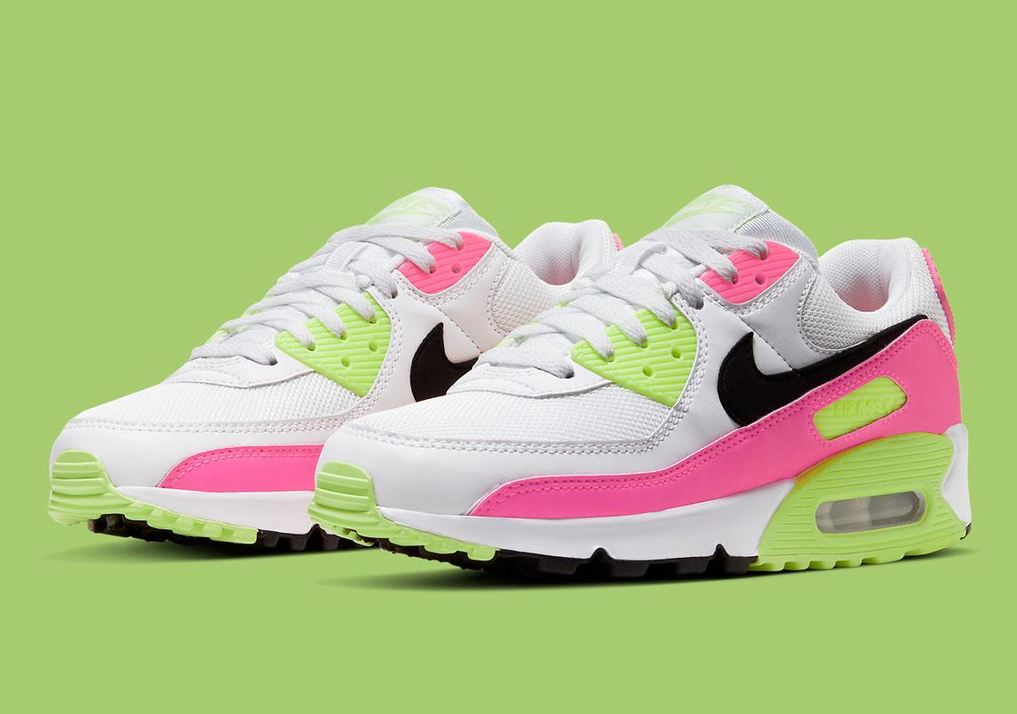 Nike Air Max 90 Watermelon CT1030-100 | SneakerNews.com