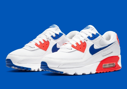 "Nike Air Max 90 Adapts The ""Ultramarine"" Colorway"