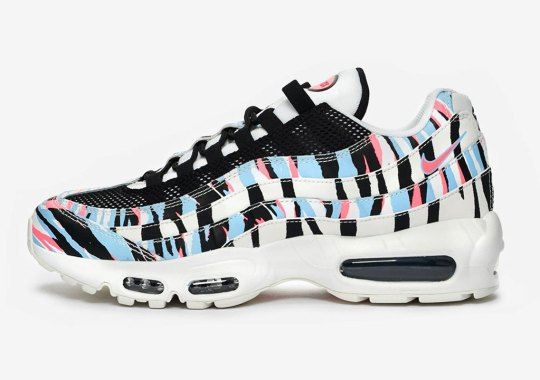 The Nike Air Max 95 Honors Korea With A Vibrant Tiger Pattern