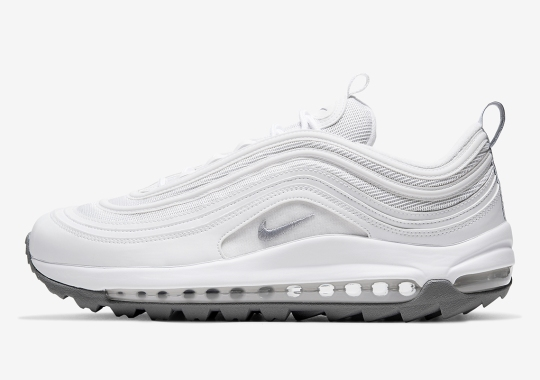 The Nike Air Max 97 Golf Is Coming Soon In White And Grey