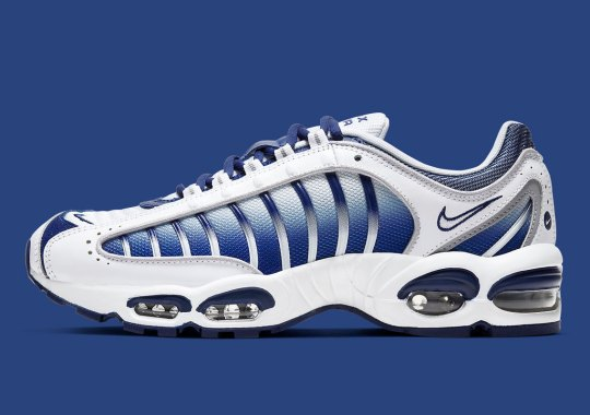The Late-90s Nike Air Max Tailwind IV Appears In A Classic White And Navy