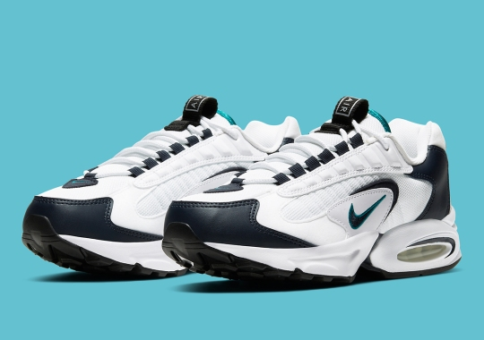 The Nike Air Max Triax 96 Gets Obsidian And Teal Looks