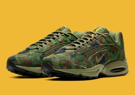 The Nike Air Max Triax 96 Is Covered In Full Camo Fatigues