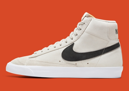 The Nike Blazer Mid '77 Adds An Earthy Light Orewood Brown
