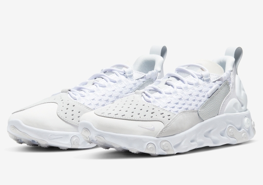 "The Nike React Sertu Gets The ""Triple White"" Treatment"