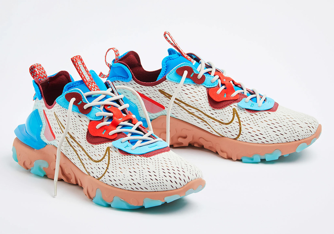 Nike React Vision Bone Blue Red CD4373-001 Release Date ...
