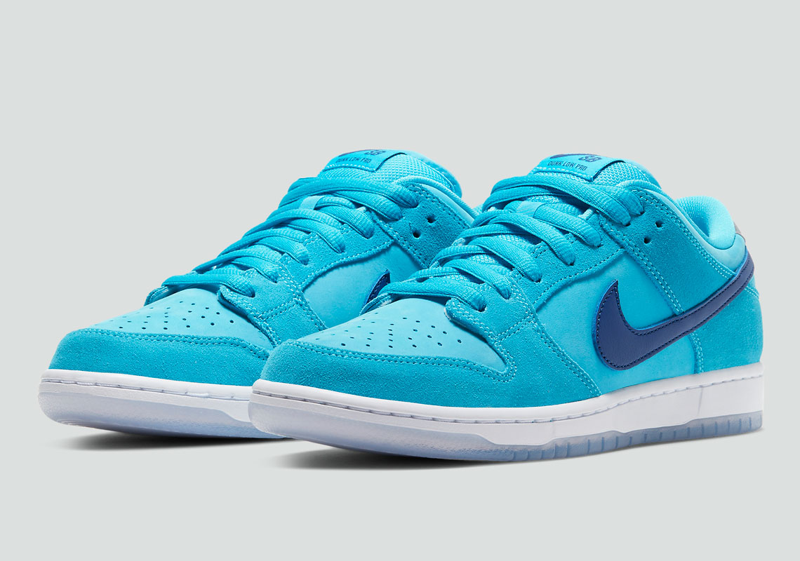 Varios Mantenimiento Sangriento  Nike SB Dunk Low Blue Fury BQ6817-400 Release Info | SneakerNews.com