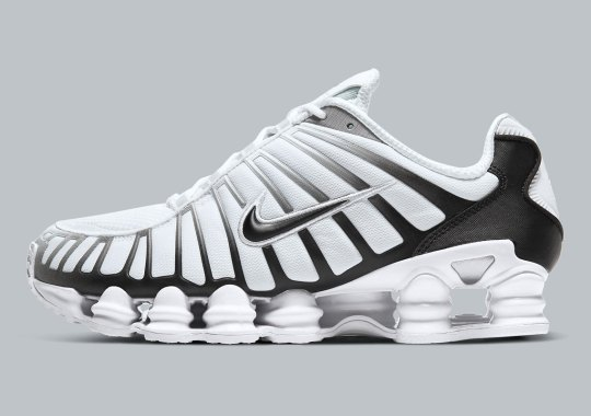 Nike Slings Out A Shox TL In Black And White