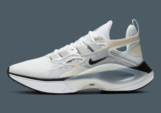 Nike's D/MS/X Signal Cleans Up With White And Cream Uppers