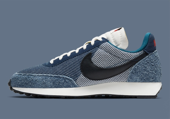 Hairy Suedes And Patterned Twill Appear On This Nike Tailwind '79 SE