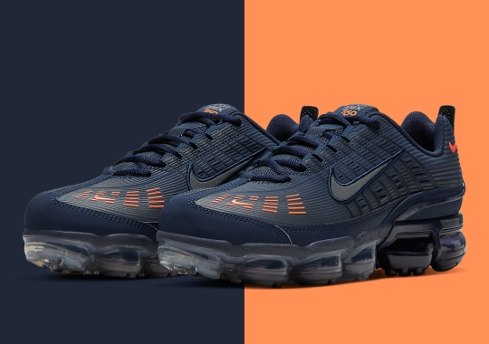 The Nike Vapormax 360 Gets A Chicago Bears Friendly Color Scheme