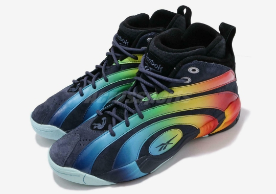Reebok Brings Back The Shaqnosis In A Loud Rainbow-Accented Colorway