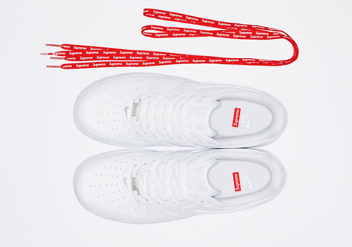 Supreme Nike Air Force 1 2020 Release