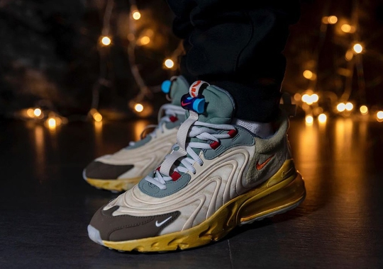 Travis Scott's Nike Air Max 270 React Is Expected To Release On April 10th
