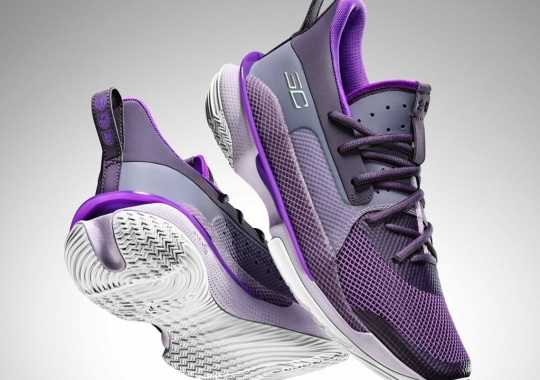 "Steph Curry And Under Armour Celebrate International Women's Day With The Curry 7 ""Bamazing"""