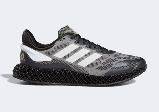 The adidas 4D Run 1.0 Set For Arrival In Black And Gold