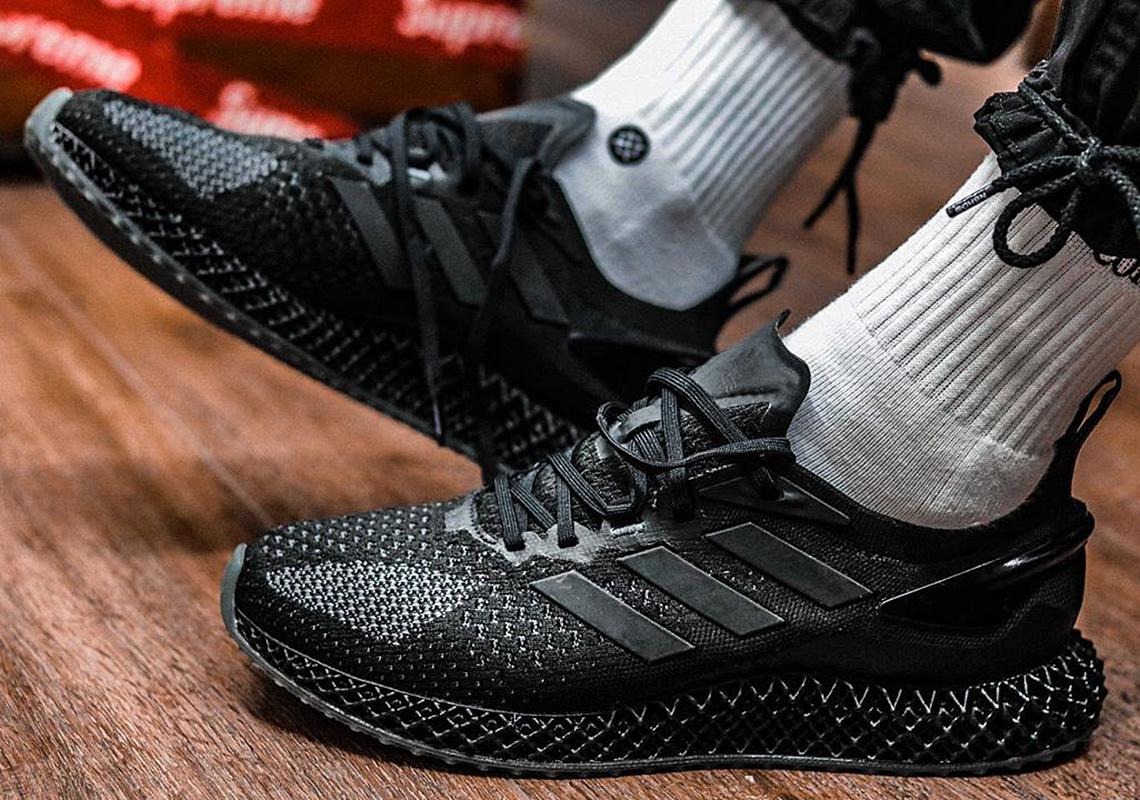 adidas 4D Run 1.0 Triple Black Release Info | SneakerNews.com