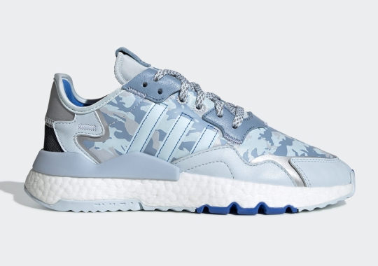 adidas Presents Two Camo Options For The Women's Nite Jogger
