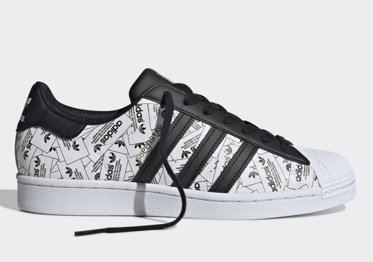 adidas Covers The Superstar In An All-Over Collage Of Labels