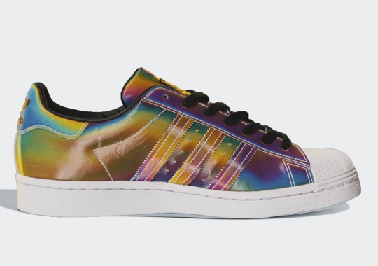 adidas Inserts Full Iridescent Uppers To The Superstar's Anniversary Run