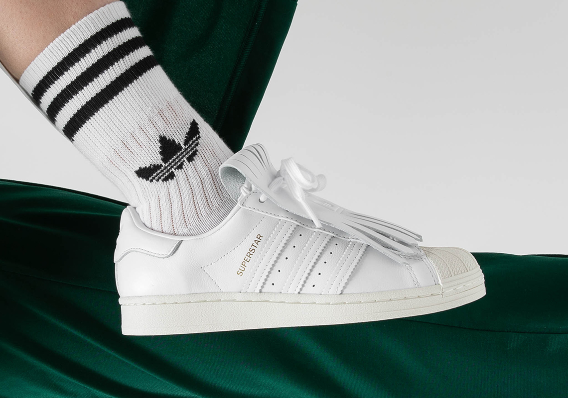adidas Adds Kilties To The Superstar For Women