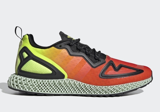 The adidas ZX 2K 4D Set For A Heatmap Gradient Colorway
