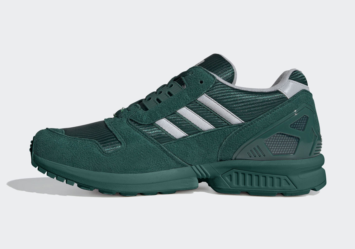 The adidas ZX 8000 Goes Full College Varsity Green