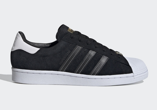 The adidas Superstar Adds Casual-Friendly Black Suede Uppers